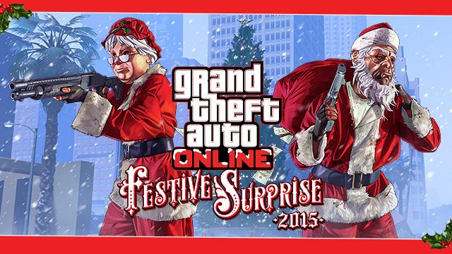 GTA Online Festive Surprise 2015
