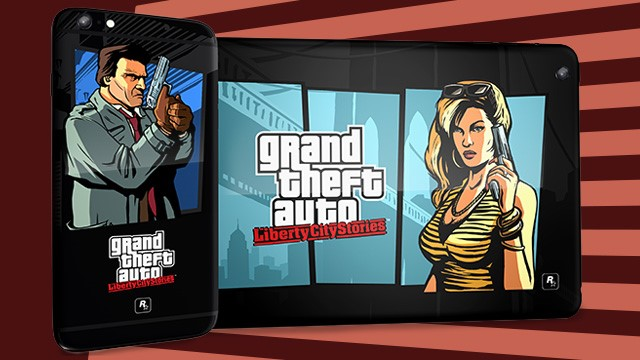 Customized Liberty City Stories iPad Mini and iPhone 6